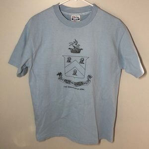Vintage Fraternity Howes Coat Of Arms T Shirt